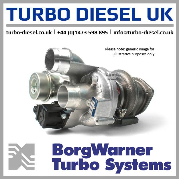 New Original BorgWarner / Alfa Romeo Turbocharger 5304-988-0090 / 55224276