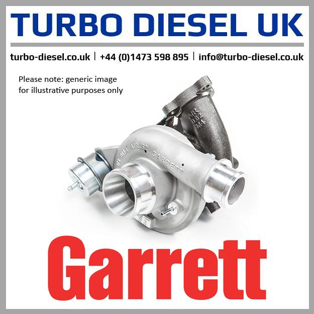 New Original Garrett / Isuzu Turbocharger 700716-5020S / 8980000311