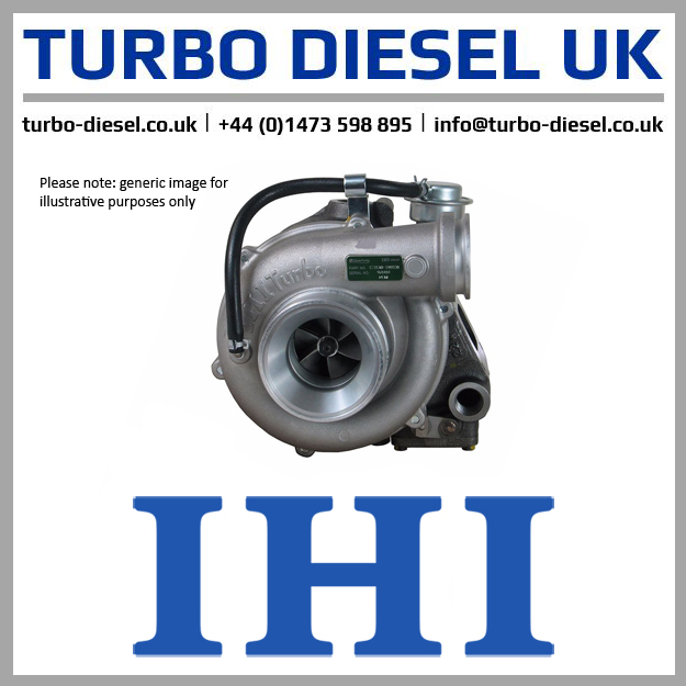 turbo CI56 1144002100 hitachi 6bd1t 6bg1 rhc7 new ihi