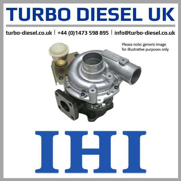 Remanufactured IHI / Isuzu Turbocharger VIEK / 8973659482