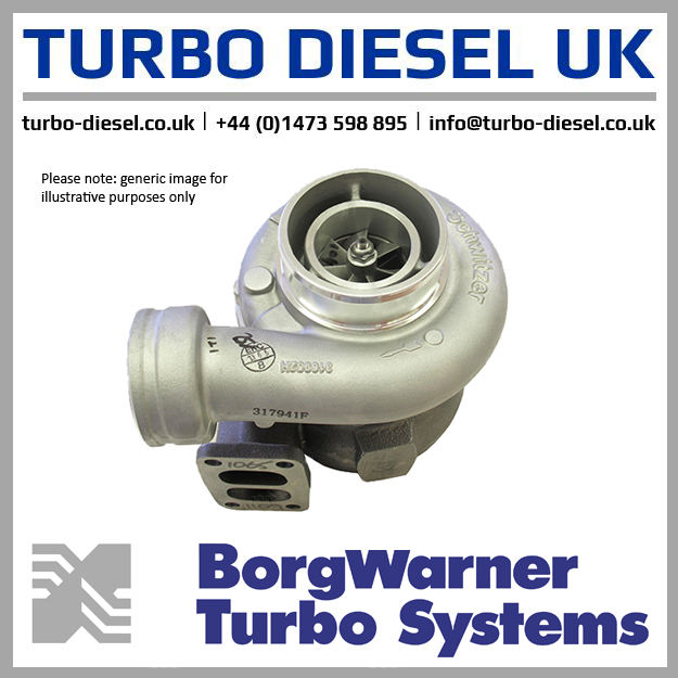 turbo 319335 3737870830 greaves 3ydc s100 new borgwarner