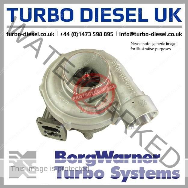 turbocharger borgwarner k365 man 53369707118 53369887118 51091017221