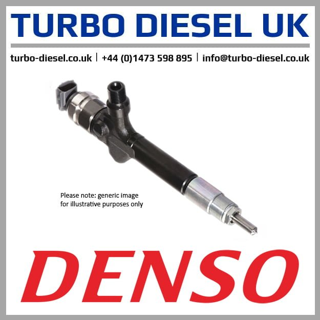New Original Denso / Toyota Injector 095000-7580 / 236700G040